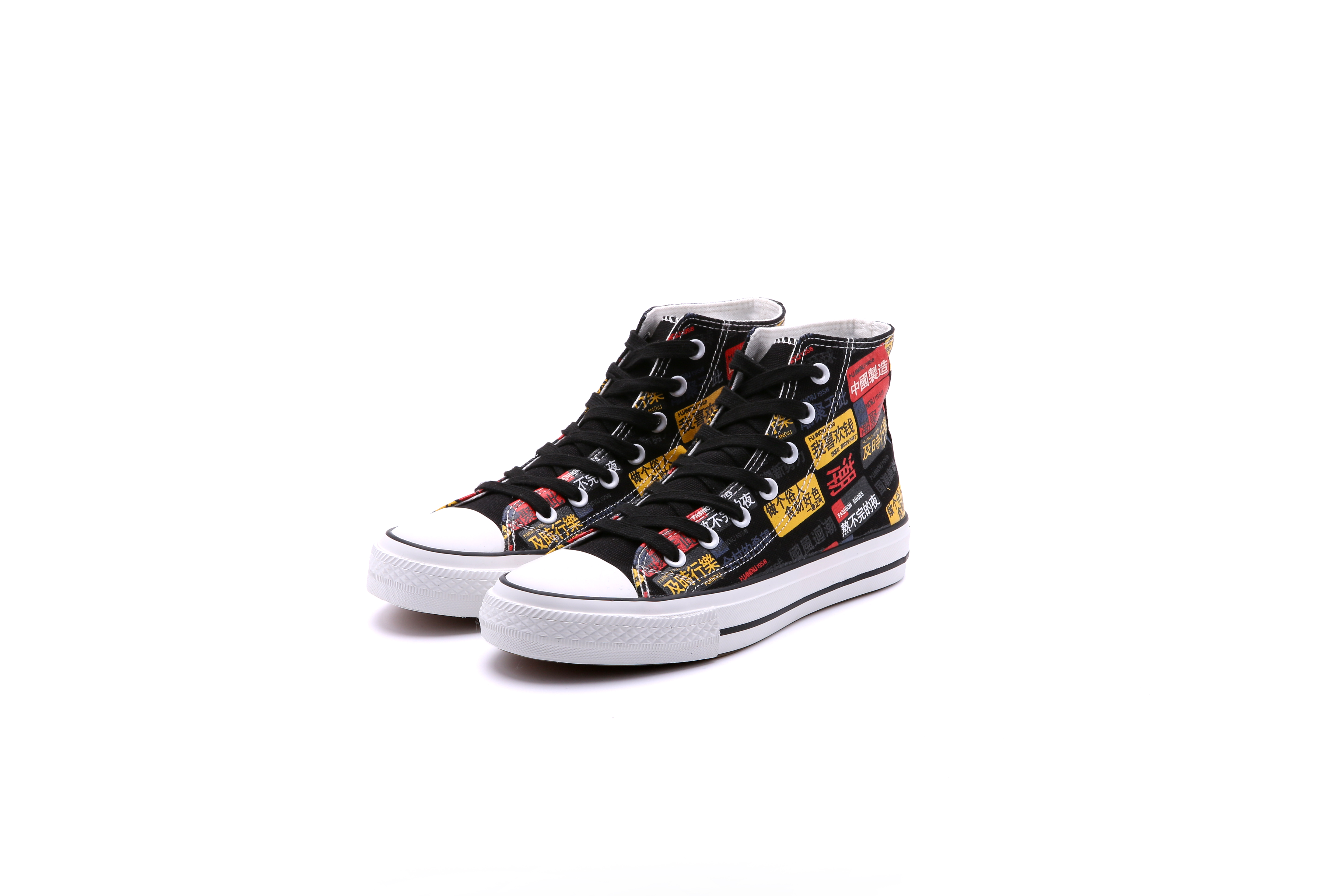 Wholesale Good Sales 2020 High Quality Ladies Black Canvas Shoes
